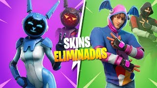 THESE SKINS WERE DELETED FROM FORTNITE BATTLE ROYALE