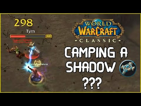 When You CAMP a Shadow Priest | PvP WoW Classic