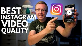 How to Post BËST INSTAGRAM VIDEO quality