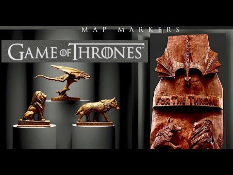 HBO Commission:  Game Of Thrones Wood Sculpture - Chop With Chris