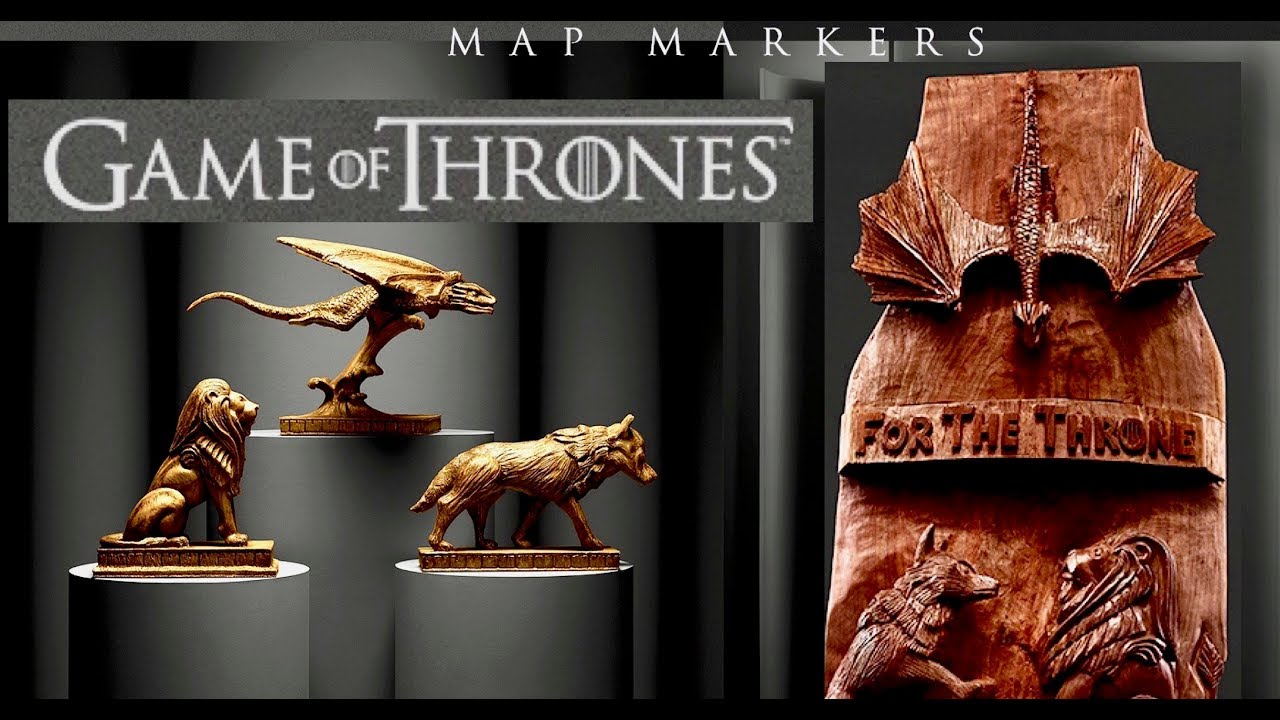 Hbo Commission Game Of Thrones Wood Sculpture Chop With Chris