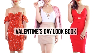 Valentine's Day Outfit Ideas- Look Book