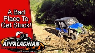 Yamaha Wolverine X4 Hill Climb Fail: Mighty Mouse To The Rescue!