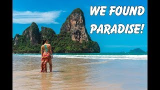 Tonsai Beach, Krabi! Railay to Tonsai Jungle Trek, and Chased by Monkeys!