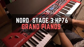 Nord Stage 3 HP76 - Grand Pianos