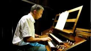 SCHUMANN Chant du moissonneur Album pour la jeunesse opus 68 n°18 Pierre ASTOR orgue Firminy