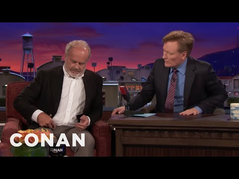 Kelsey Grammer's Wife's Name Is Tattooed In His Pubic Region  - CONAN on TBS