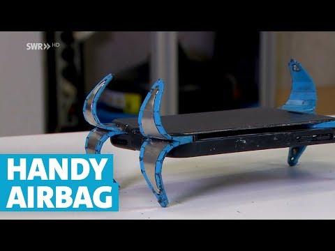 Crean un parachoques para evitar que se rompa la pantalla cuando los móviles caen al suelo