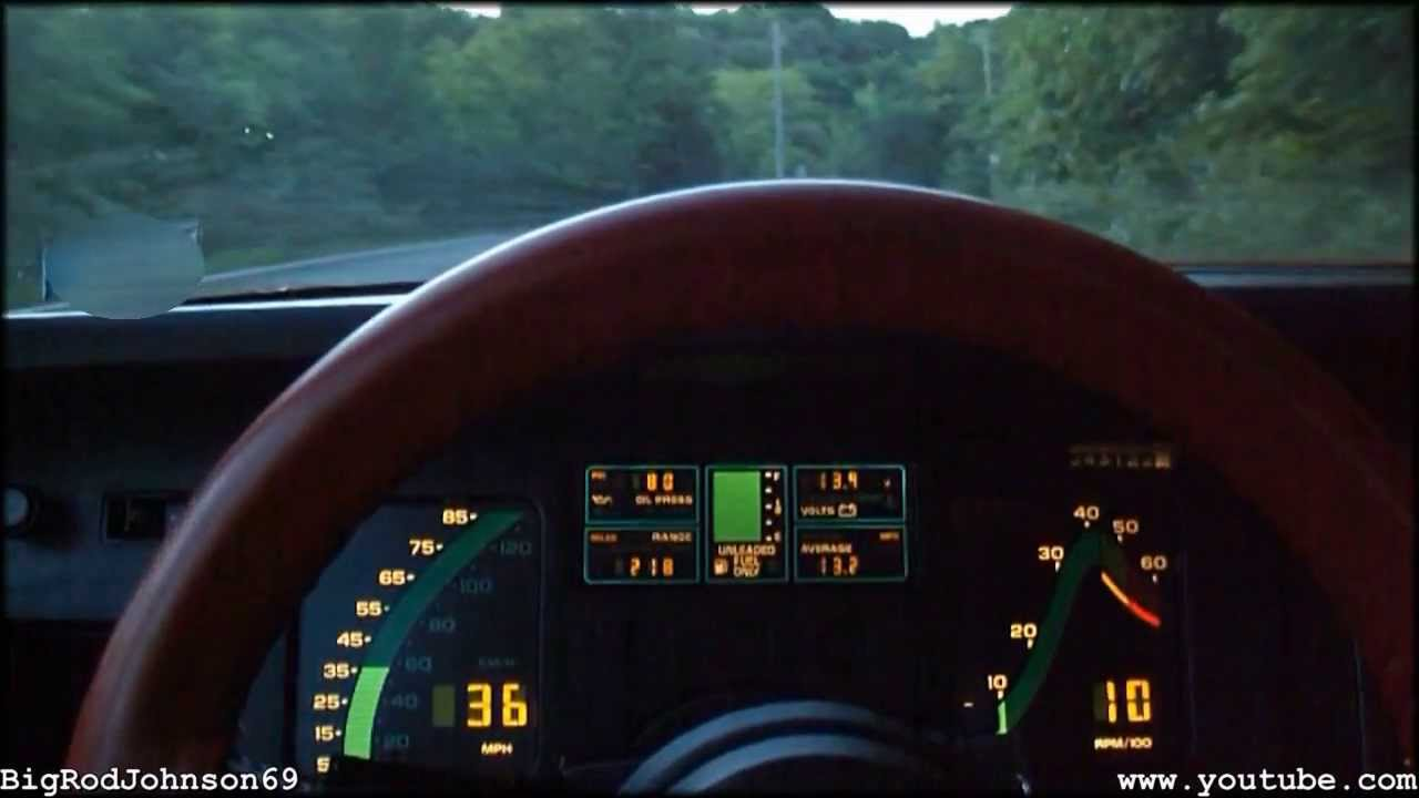 1984 Chevrolet Corvette L83 Automatic Walk Around Amp Test