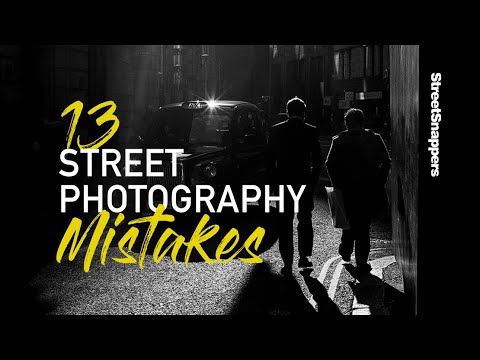 Street Photography Mistakes