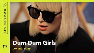 "Dum Dum Girls, ""Coming Down"" Live Acoustic Performance"