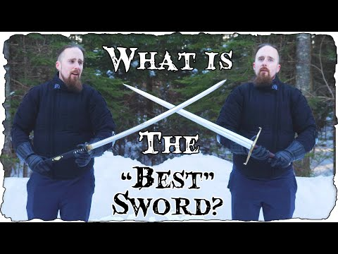 What Is The Best Sword?  (Not As Simple As You'd Like)