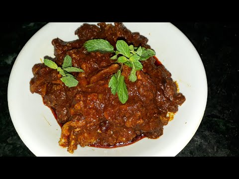 Zaban ka salan or goat tongue gravy