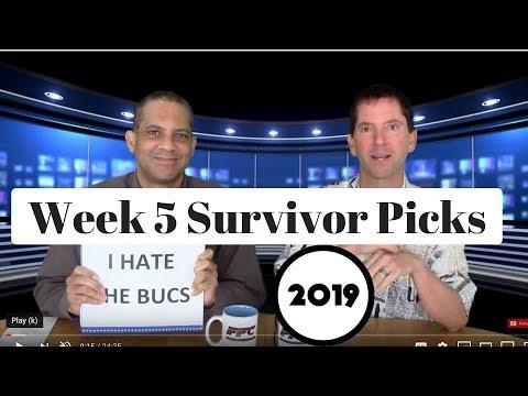 2019 NFL Survivor Pool Picks Week 5