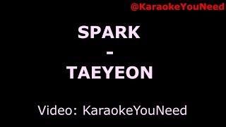 [Karaoke] Spark - TAEYEON