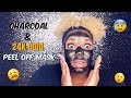 Masque B.A.R | BLACK GOLD PEEL Off Mask Review/ Reaction | Vlogmas Day 11