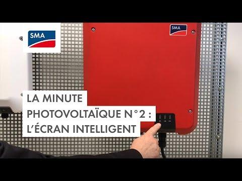 La minute photovoltaïque : l'écran intelligent