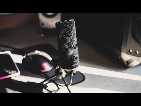 Бюджетный микрофон Fifine K669 | Обзор