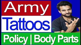 Indian Army Tattoos policy Full Info Rally Bharti Hinid
