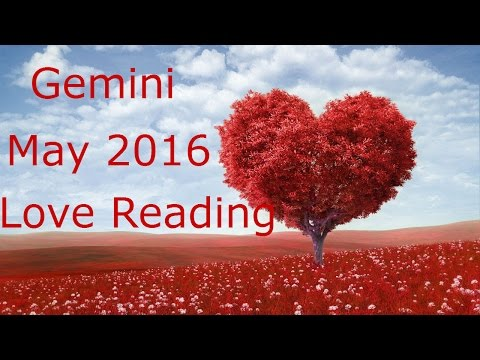 Gemini May 2016 Love Tarot Reading - 동영상
