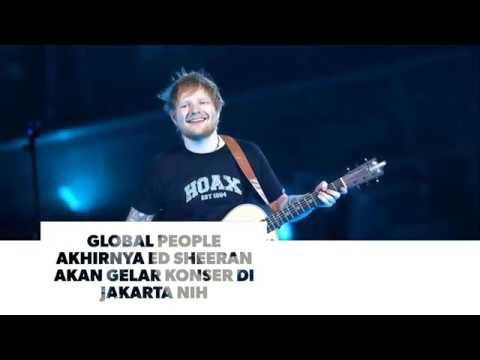 Ed Sheeran Gelar Konser Perdana di Jakarta Mp3