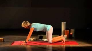 Iyengar Yoga Part 1. Йога Айенгара. Видео уроки. Программа для снятия напряжения в пояснице(, 2015-04-02T09:45:41.000Z)