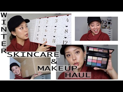 HUGE BEAUTY HAUL WINTER SKINCARE and MAKEUP