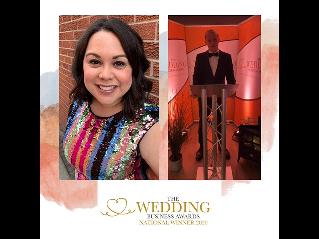 The Wedding Business Awards National Winner 2020