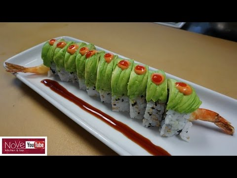 Dragon Roll - How To Make Sushi Series