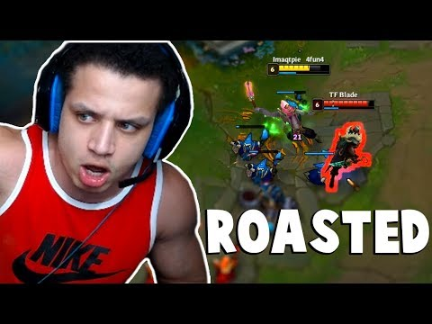 Tyler1 gets ROASTED by Viewers | Imaqtpie 1v1 TFblade | Hashinshin | Nightblue3 | LoL Funny Moments