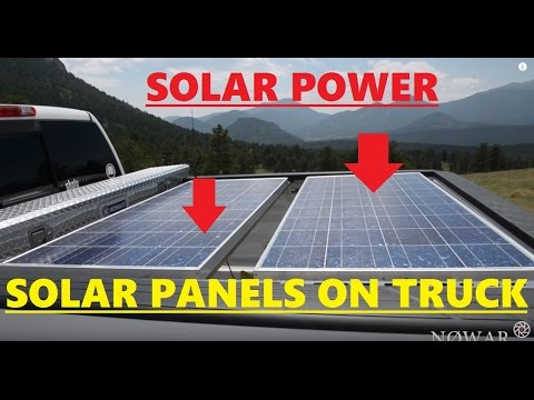 Solar Panels On Your Vehicle Easy