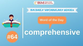 #bmenglish #comprehensive #vocabularyword learn to speak english fluently with our app. app link: http://bit.ly/english-99 receive free updates of this daily...