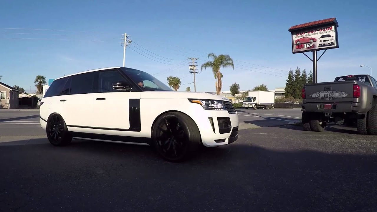 Range Rover Wrapped