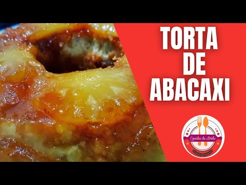 Convidada Para Um Almoço, E Ganhei Uma Torta De Abacaxi Vejam Como Faz !!