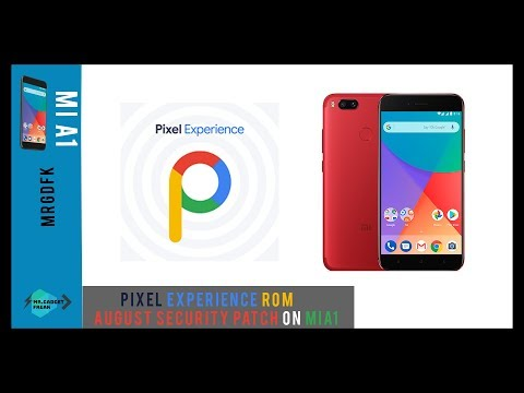 Pixel Experience Rom August Security patch review || feat Mi A1 ||🔥🔥