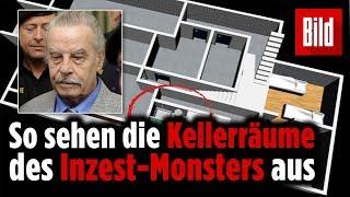 Das Verlies des Inzest-Monsters Josef Fritzl – vor 10 Jahren...