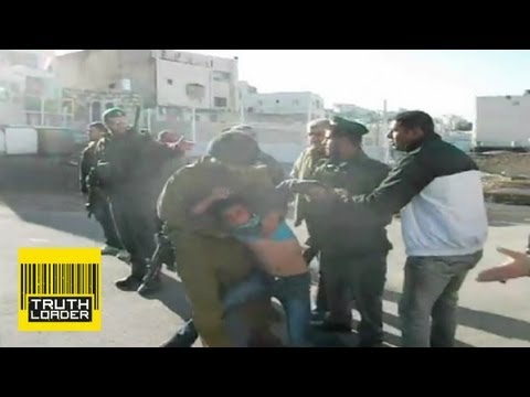 Israeli Defence Force arrest 27 Palestinian children - Truthloader
