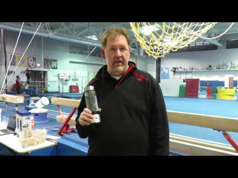 Gymnastics coach Bo Morris uses hydrogen water post surgery