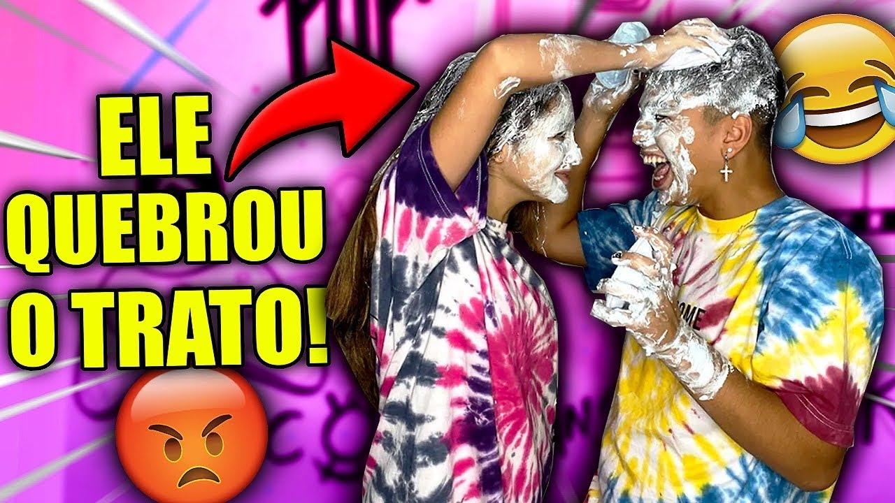 LEVEI TORTADA NO CABELO TODO!! FT PEDRO BARBOSA