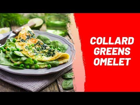 Collard Greens Omelet