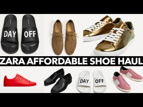 ZARA AFFORDABLE SHOE HAUL // *UNDER $50* CHEAP AND TRENDY!!