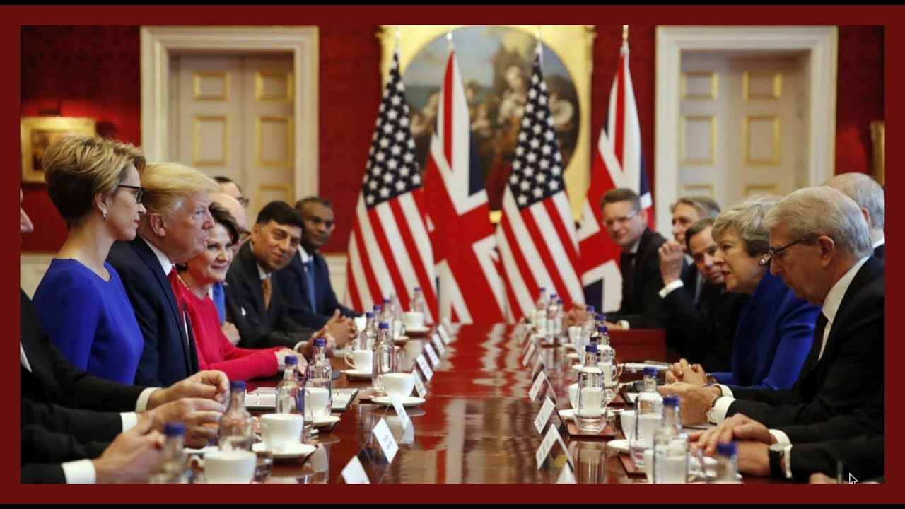 Golden State Times - TRADE: President Trump URGENT Bilateral Meeting with Theresa May on Business