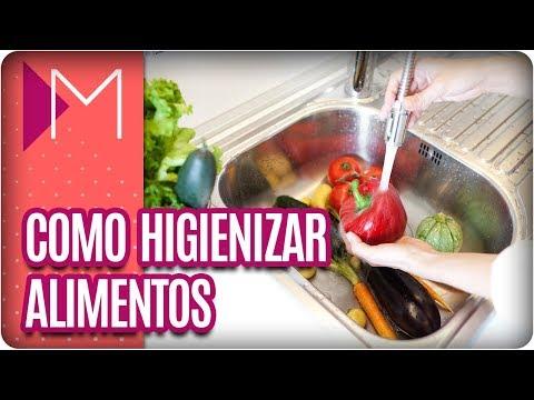 Como higienizar alimentos - Mulheres (07/03/18)