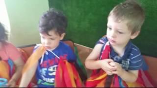 Урок иврита в детском саду לייג בעןמר