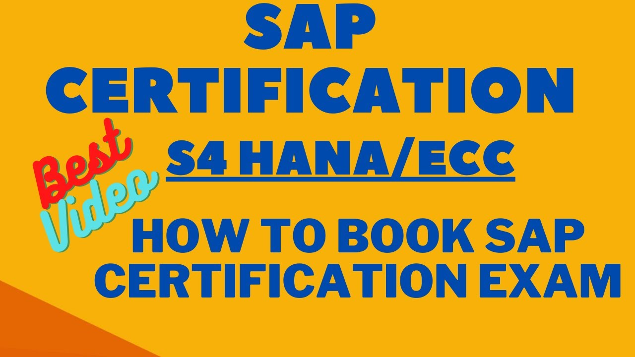 hana sap certification s4