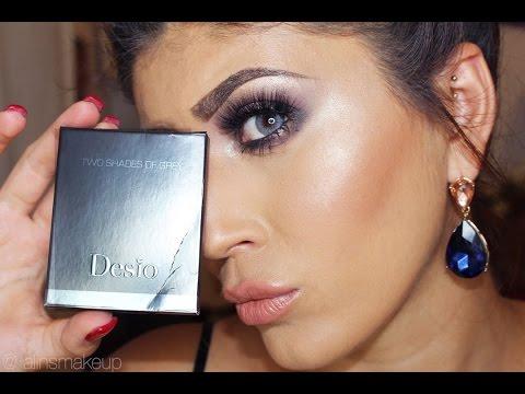 Desio Lens - Two Shades Of Grey - DARK GREY COLOR REVIEW