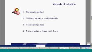 kaplan masterclass business valuations