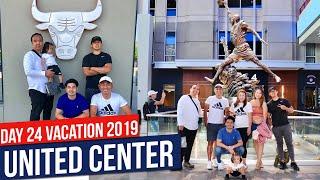 Travel Vlog DAY 24: Chicago's United Center | Vacation 2019