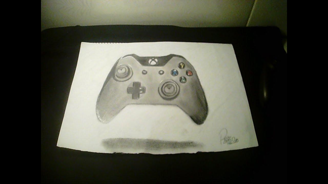 Como Desenhar Controle Xbox One Fail Youtube