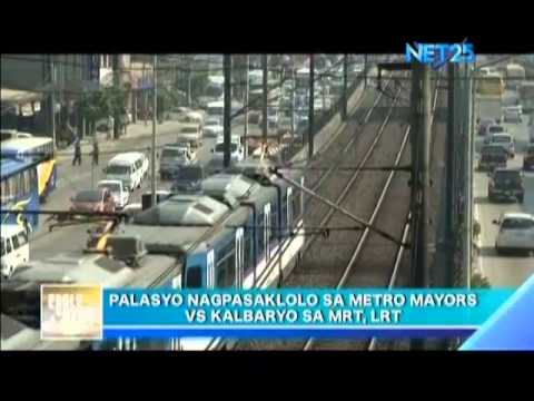 Malacañang asks Metro Manila mayors to help in MRT LRT problem